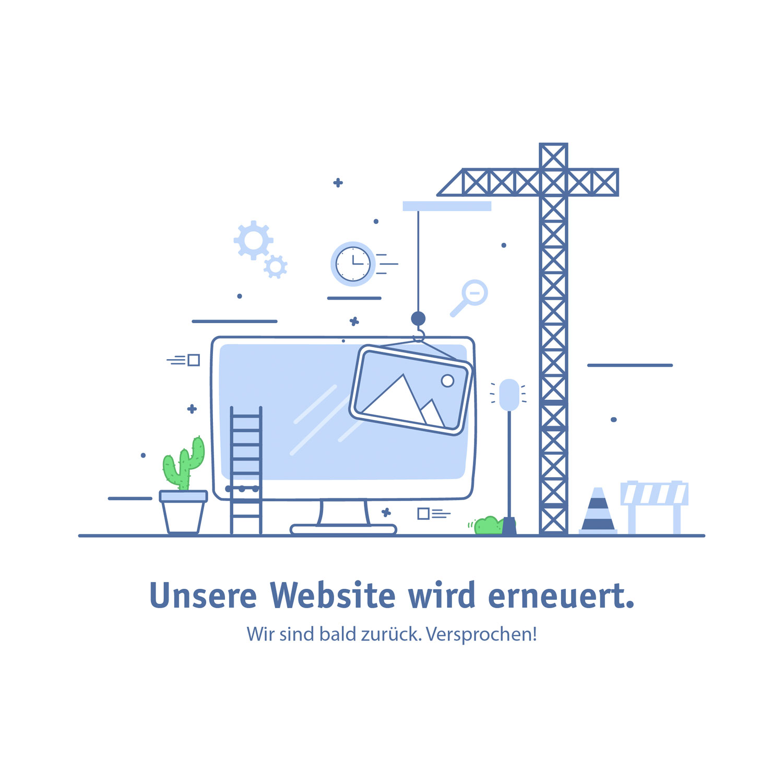 Unsere Website wird aktuell erneuert.