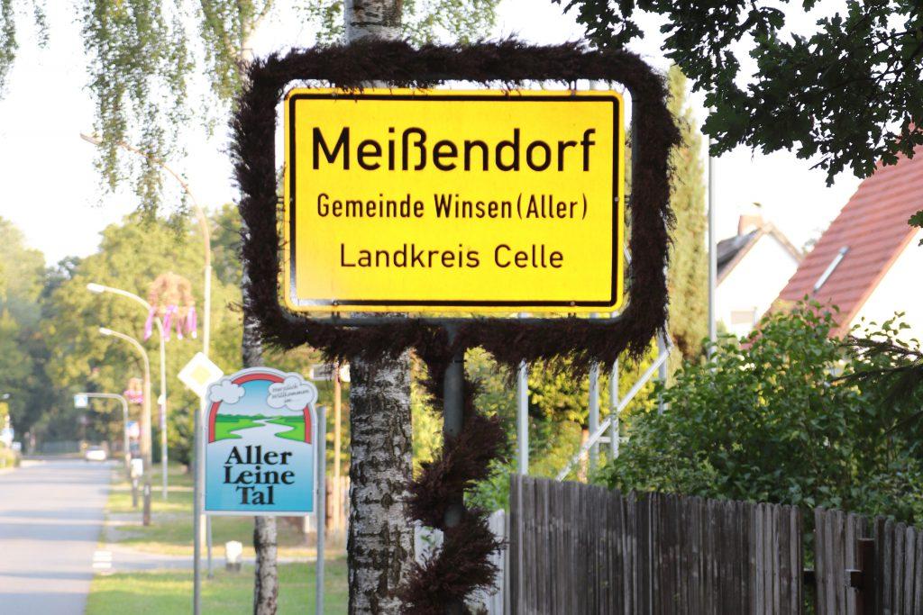 Meißendorf Straßenschild Ortseingang